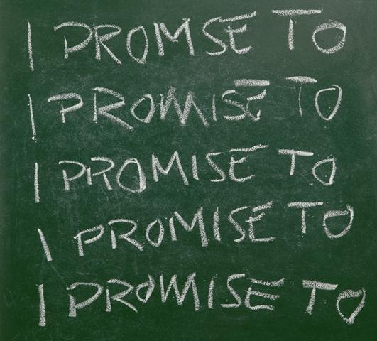 0 I promise