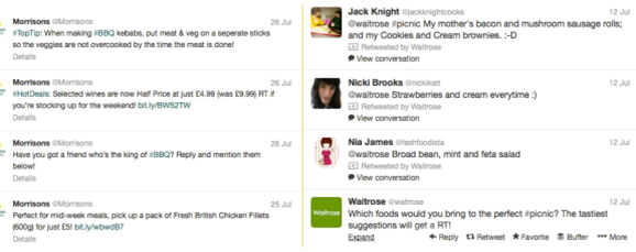 @Morrisons vs @Waitrose – who is more engaging on Twitter?