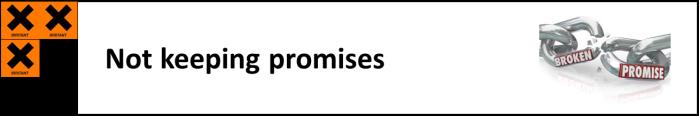 0 broken promises