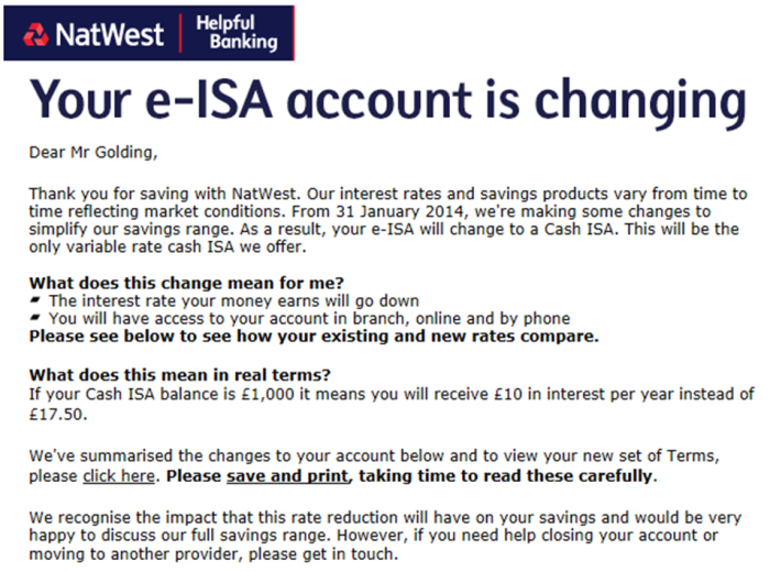 0 nat west eisa
