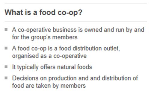0 food coop
