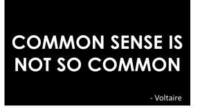Common Sense – the not so magic 'customer experience' ingredient