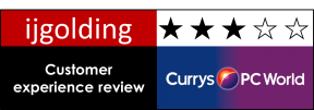 Currys PC World – Customer Experience Review