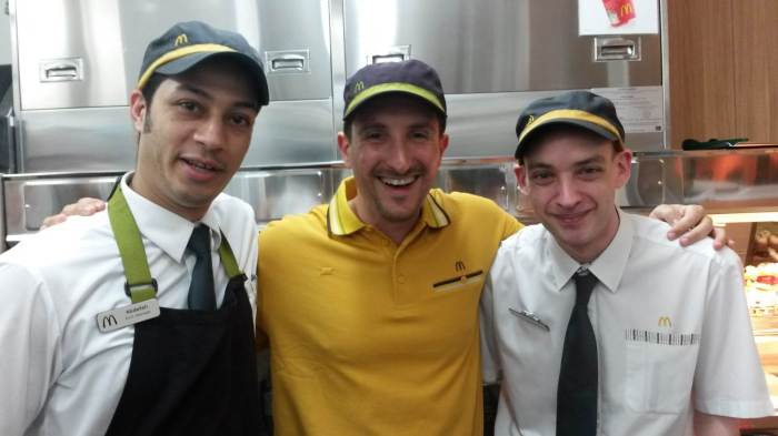 0 McDonalds Abdullah & Stephen