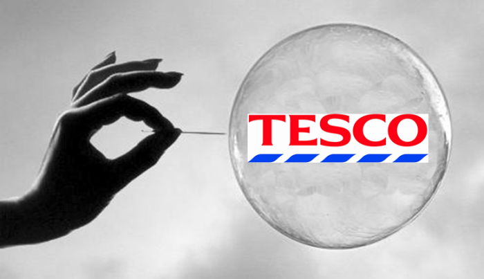 0 tesco bubble