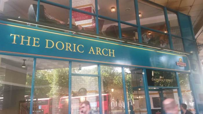 0 doric arch front