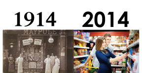 1914 Vs 2014: When was the best time to be a customer?