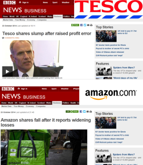 Shareholder or Customer First? The difference between Tesco and Amazon