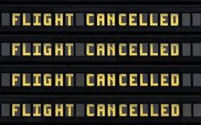 Flight cancelled