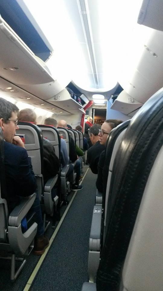 Tweeting at 30 thousand feet!